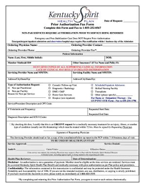 central health prior authorization form bill of sale form kentucky authorization for release of