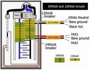 3 Wire 220 Breaker Diagram