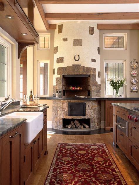 cocina rustica  horno de lena decoracion cocina