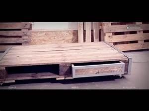 Faire Une Table Basse En Palette : bricoler avec bosch cr er une table basse avec une ~ Dode.kayakingforconservation.com Idées de Décoration