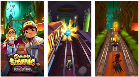Subway Surfers Halloween Update by Subway Surfers Transylvania 1 46 0 Mod Apk Unlimited