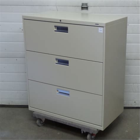 hon horizontal file cabinet hon beige 3 drawer lateral file cabinet locking allsold