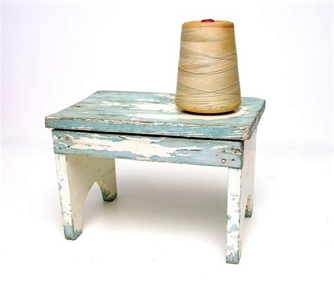 Bench Stool by Antique Rustic Step Stool Riser Wooden Bench Small