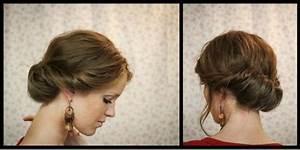 Coiffure Pour Noel : soiree noel coiffure simple et facile part 3 ~ Nature-et-papiers.com Idées de Décoration