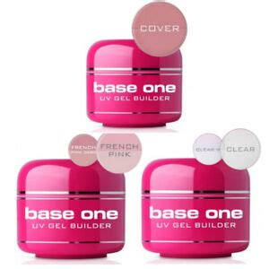 Homepage Builder 15 by Base One Clear Pink Cover Uv Gel Nail Builder 5g