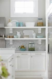 idee decoration cuisine avec rangements ouverts With idee deco cuisine avec fabrication meuble cuisine