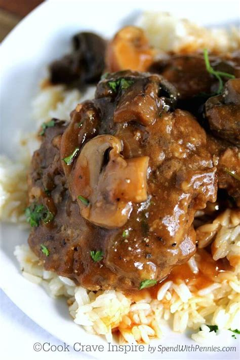 slow cooker salisbury steak keeprecipes  universal