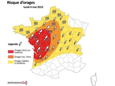 orages violents pr 233 vus en france lundi 4 mai 2015