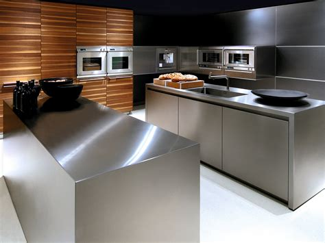 cuisine bulthaup b3 stainless steel kitchen by bulthaup