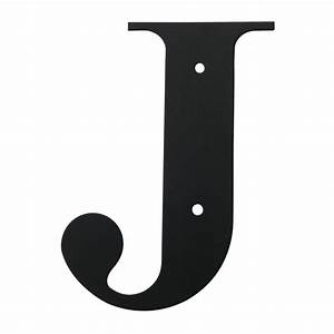 village wrought iron letter j large With large letter j