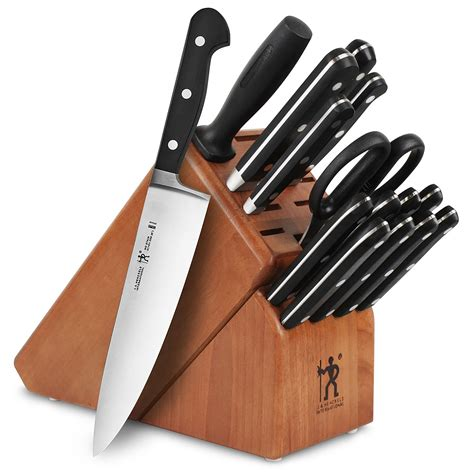 Knives Set by Henckels International Classic Knife Block Set With