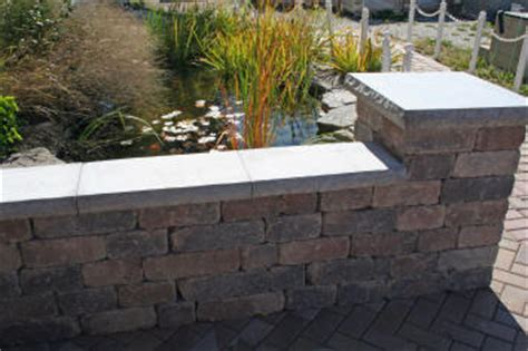 Unilock Wall - pavers and wall block harken s landscape supply garden