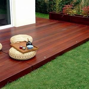 Matériaux Pour Terrasse : terrasse en bois gedimat diverses id es de ~ Edinachiropracticcenter.com Idées de Décoration