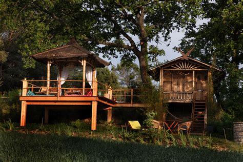hotel avec dans la chambre bretagne week insolite dans des maisons thaï languedoc roussillon