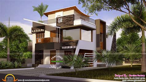modern contemporary floor plans floor plan of ultra modern house kerala home design