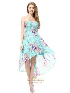 floral bridesmaid dresses floral high low prom dresses aqua blue floral dress turquoise floral dress fancy bridesmaid