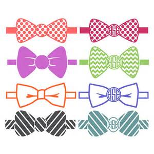 mardi gras bow tie bow tie pattern monogram svg cuttable designs