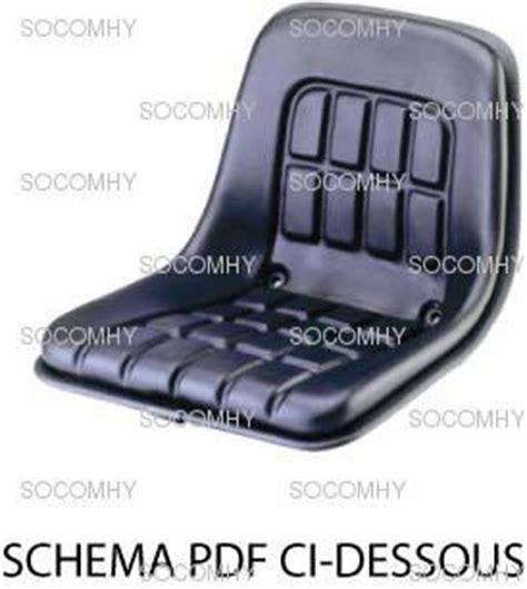 siege exterieur siège pour tracteur sans cabine kab p1 sans amortissement