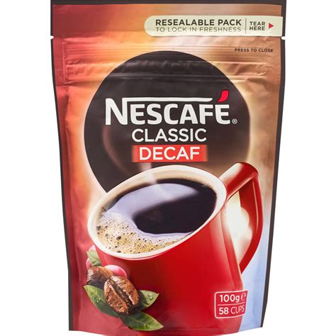 I am a coffee lover but sadly i don't own a coffee machine to brew a fresh cup of coffee. Nescafe Coffee Classic Decaf Reviews - Black Box