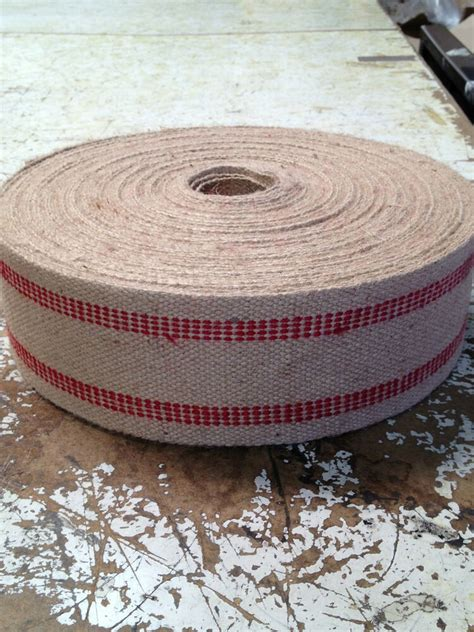 Upholstery Supply Company by 3 1 2 Inch Wide Jute Webbing Stripe 11 Pound
