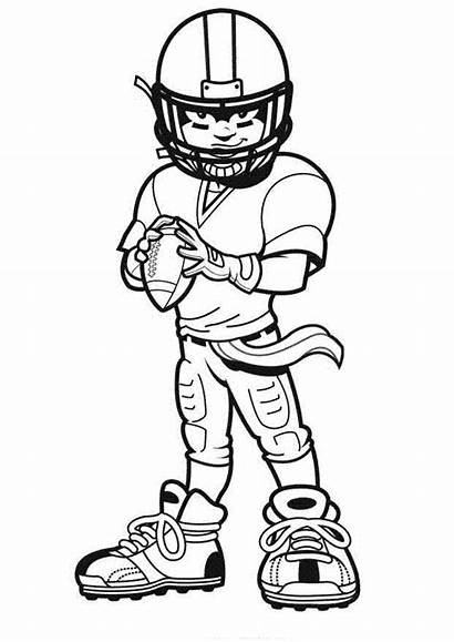 Football Helmet Draw Cliparts Pages Coloring Team