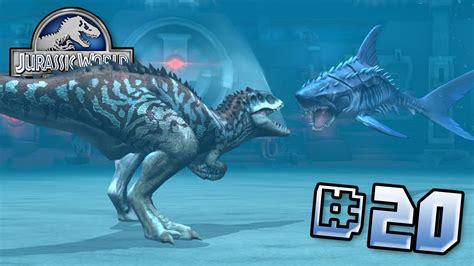 Indomninus Vs Mega Shark!    Jurassic World