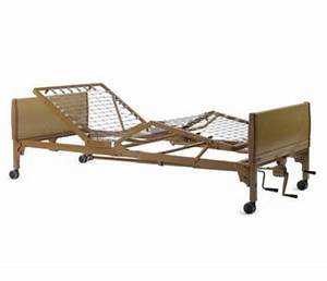 Invacare Manual Hospital Bed   Hospital Bed Packages