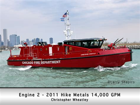 Bc Fire Boat by Chicago Fire Boat The Christopher Wheatley
