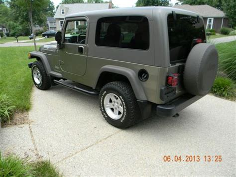 2006 jeep wrangler 4 door purchase used 2006 jeep wrangler unlimited sport utility 2