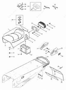 Ski Doo 1997 Mach - Z  Seat And Accessories