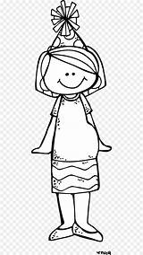 Melonheadz Colorear Clipart Child Clothing sketch template