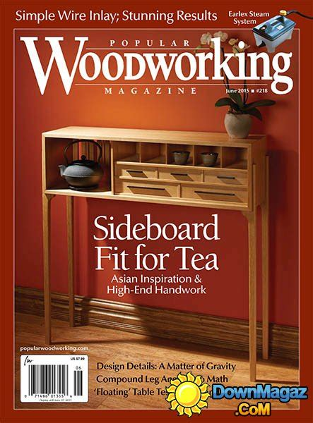 popular woodworking  june