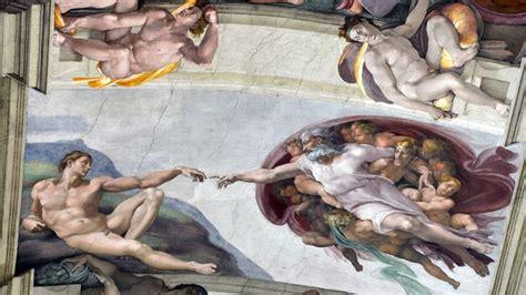 fresque du plafond de la chapelle sixtine la chapelle sixtine ouvre aux sans abri ferme aux touristes l express