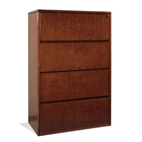 Wood 4 Drawer Lateral File Cabinet  Home Furniture Design. Black Foyer Table. Custom Built In Desk. Wicker Storage Chest Of Drawers. King Size Bed Frame With Drawers Plans. Car Desk Organizer. Small Computer Desk Walmart. Dark Wood Desks. Craft Station Desk