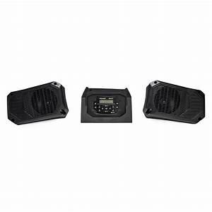 Bluetooth U00ae  Apple U00ae Control  Am  Fm Dash Stereo  U0026 2 X 5 25 U0026quot  Speakers By Mb Quart U00ae