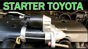 Como Cambiar Starter Toyota Corolla 2003