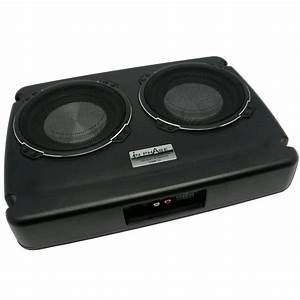 USW12 Dual underseat active subwoofer system 600 watts with
