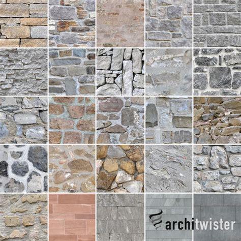 seamless stone wall textures  cgtrader