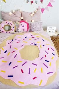Decke Selber Nähen : diy donut decke ohne n hen tumblr zimmer deko selber ~ Lizthompson.info Haus und Dekorationen