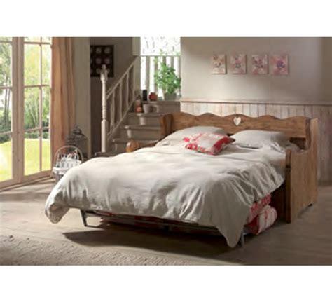 lit canapé fer forgé canape lit tissu déhoussable 3392
