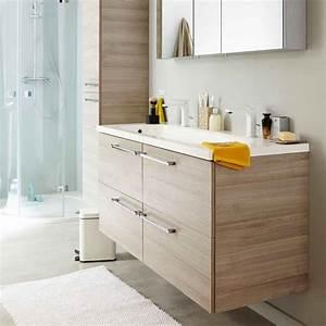 bien choisir son meuble de salle de bains leroy merlin With meuble salle de bain gain de place leroy merlin