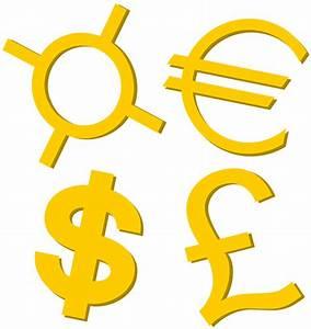 File Gold Currency Symbols Svg