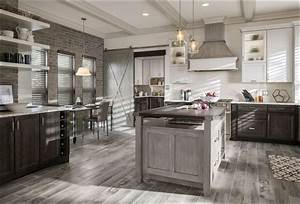 gray stained oak cabinets 874