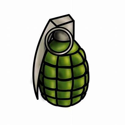 Grenade Cartoon Draw Wikihow Step Steps Pencil