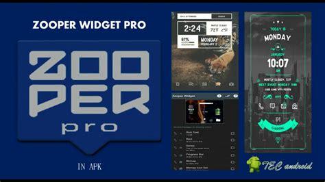 zooper widget pro todo desbloqueado en apk youtube