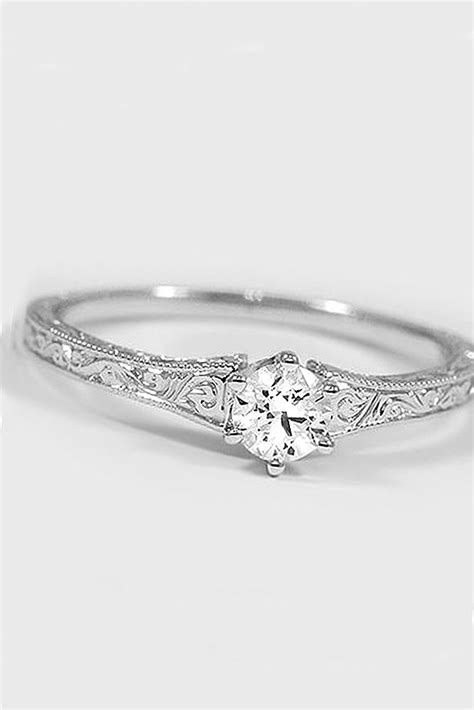 36 simple engagement rings for who love classic style engagement ring and weddings