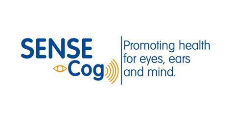 SENSE-Cog: Promoting health for eyes, ears and mind