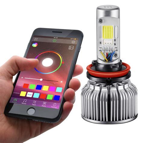 app controlled led lights lumen cadillac escalade 2004 app controlled rgb led fog