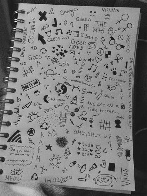 cute notebook doodles tumblr - Google Search | Art | Drawings, Notebook drawing, Doodle art