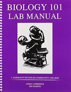 Biology 101 Laboratory Manual By Lawrence